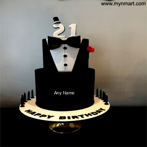 Awe Inspiring 21St Birthday Cake For Boy Funny Birthday Cards Online Alyptdamsfinfo