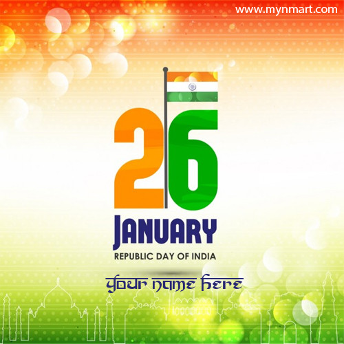 26 January Republic day of India