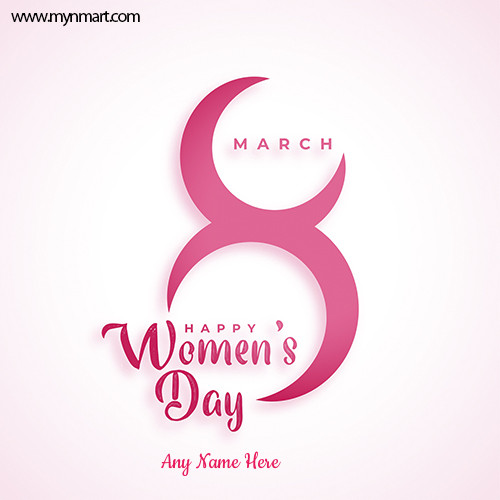 8 March International Women Day Greeting 2021