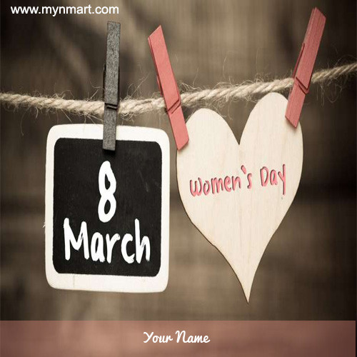8 March Women's Day Image