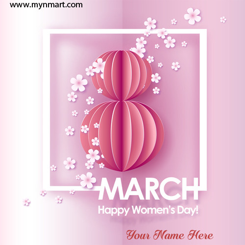 8th March Happy Women's Day