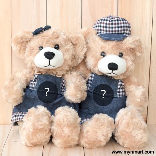 Alphabet Letters On Teddy Bear Tshirt