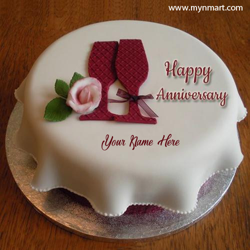 Anniversary Party Celebration Cake