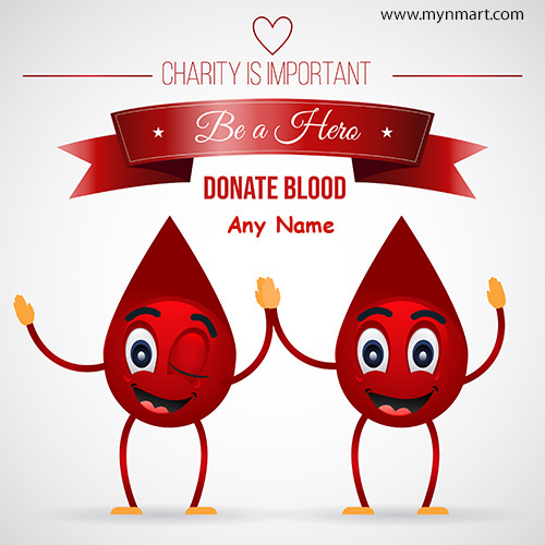 Be a Hero Donate Blood