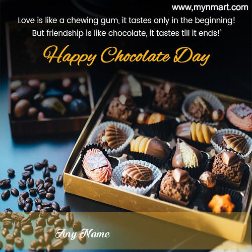 Beautiful Chocolate Day Message