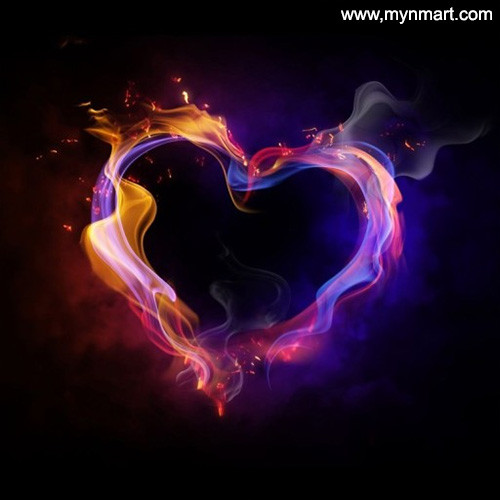 Beautiful Colorfull Heart