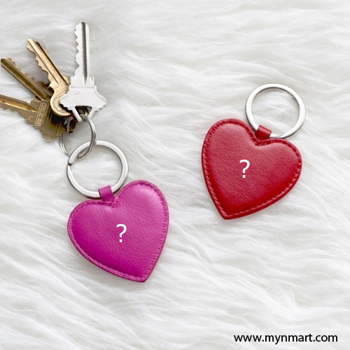 Beautiful Heart Shaped Key Chains