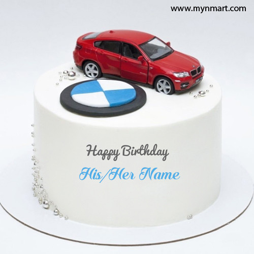 Birthday Cake for Car Lover