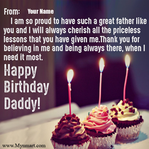 Birthday Card For Daddy