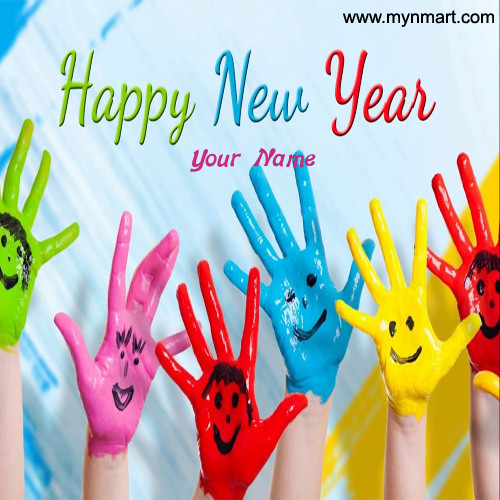 Colorful Happy New Year
