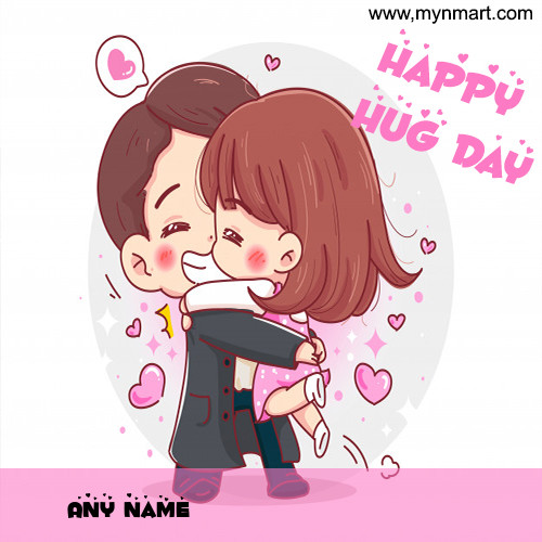 Cute Hug Day Image
