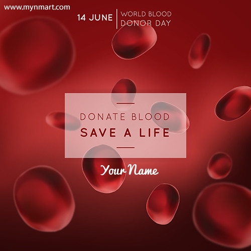 Donate Blood Save Life