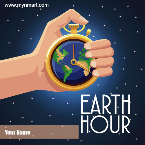 Earth Hour Clock