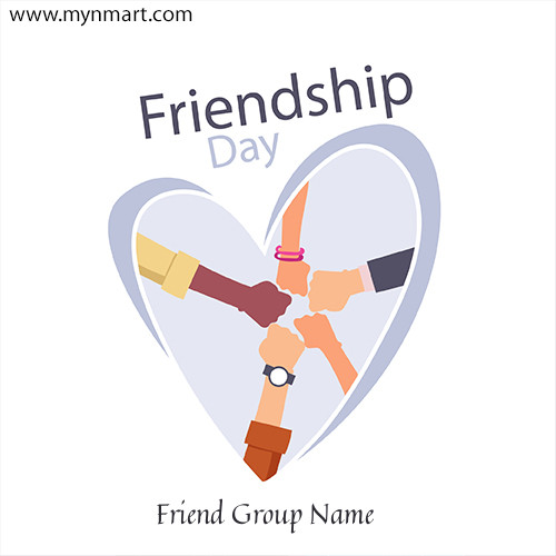 Friendship Day Greeting with Friend Hand 2020
