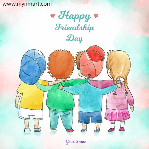Friendship Day Greeting With Friends 2020