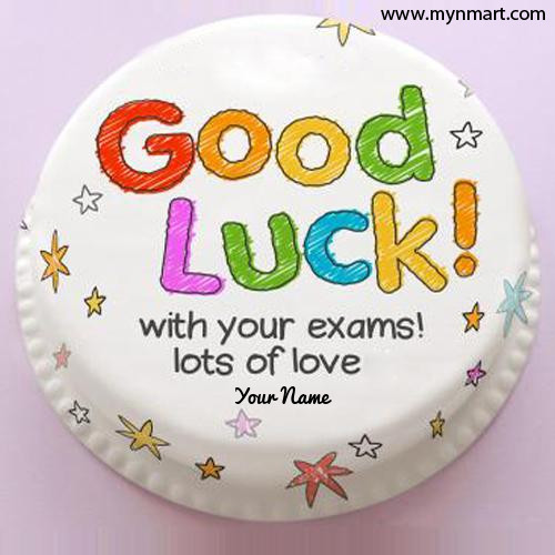 Good Luck for your exam