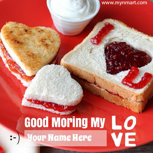 Good morning my love romantic greeting m4hsunfo