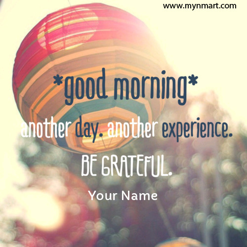 Good Morning with Good Quotes