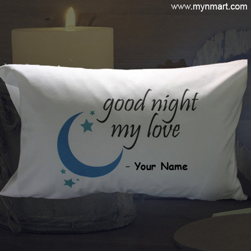 Good Night My Love Pillow