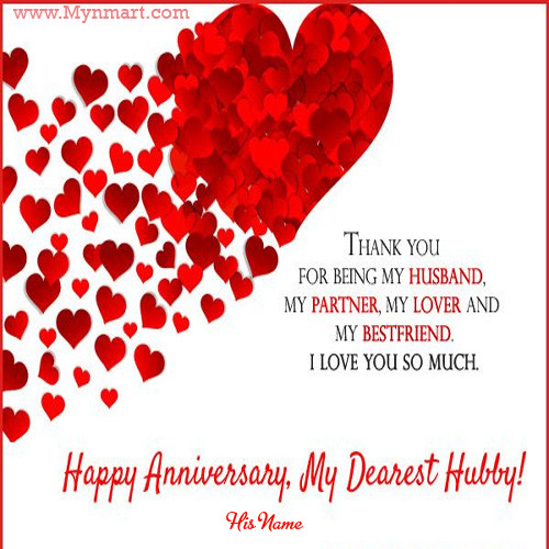 Happy Anniversary Card For Husband