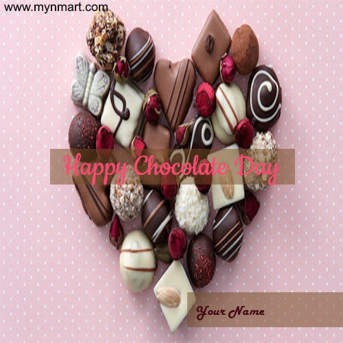 Happy Chocolate Day - Milk Chocolates