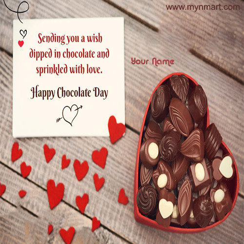 happy Chocolate Day - Sprinkled with Love