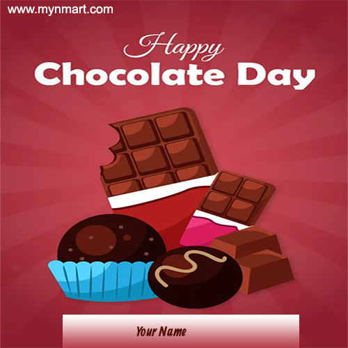 Happy Chocolate Day - Yummy Chocolate
