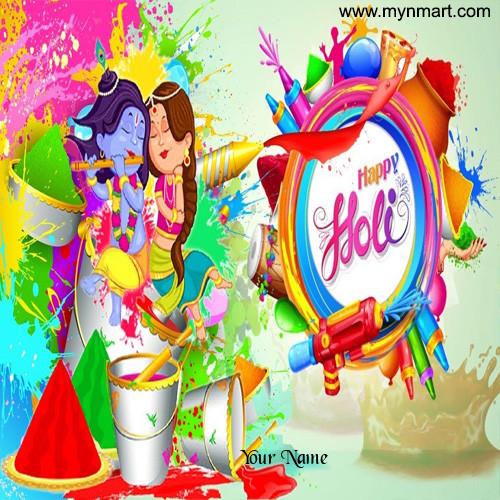 Happy Holi Radha Krushna