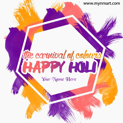 Happy Holi The Carnival of Colors