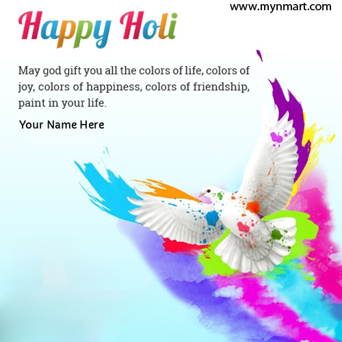 Happy Holi with good quotes