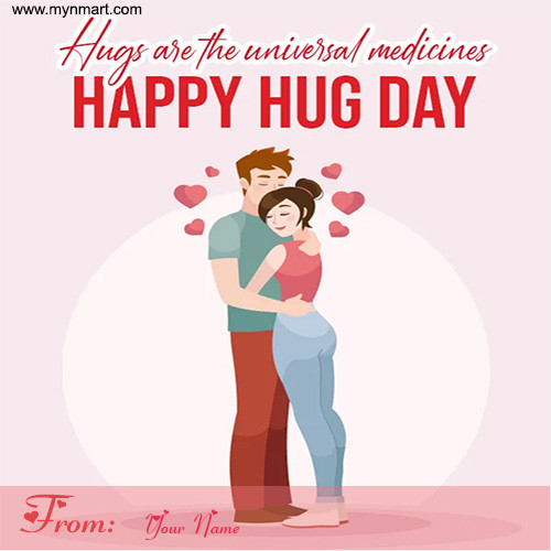 Happy Hug Day - Universal Medicines