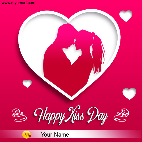 Happy Kiss Day - Heart