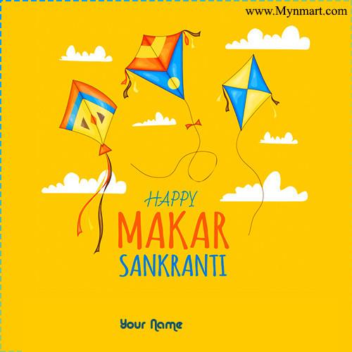 Happy Makar Sankranti -Kites