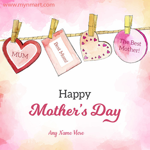 Happy Mother Day Hanging Greeting 2020