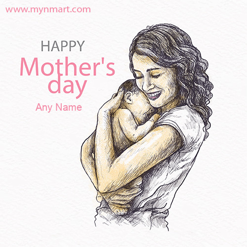 Happy Mother Day Scatch Greeting