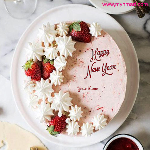Happy New Year Cake Image