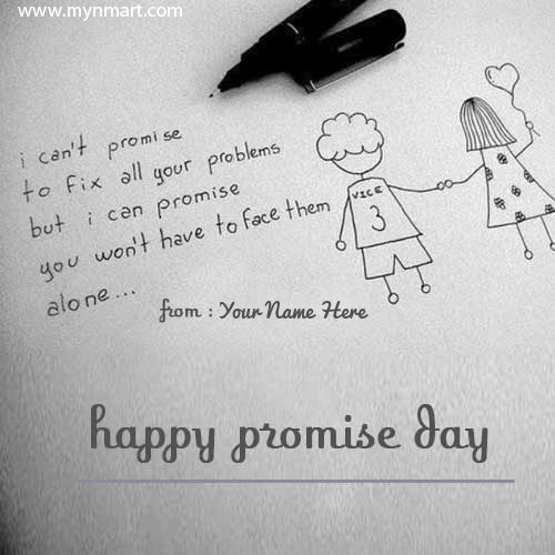 Happy Promise Day Wishes For Friends