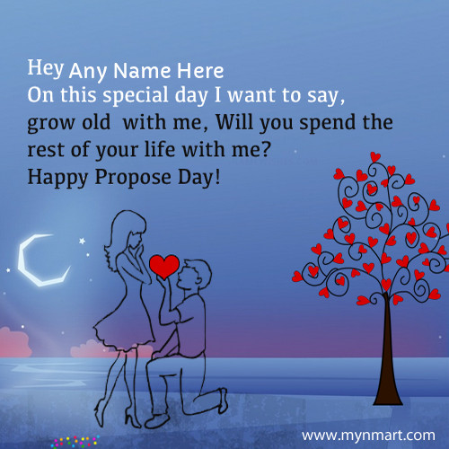 Happy Propose Day 2019 Wishes With Name