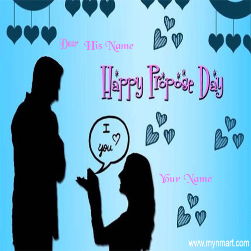 Happy Propose Day - Love