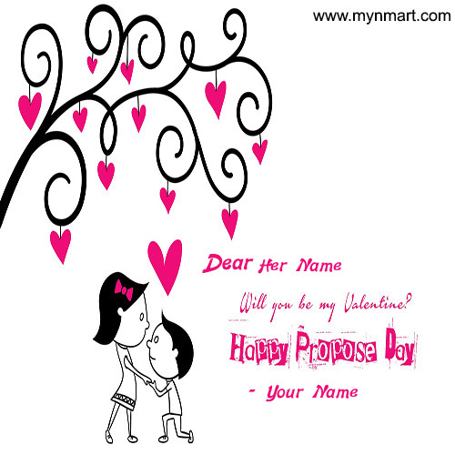 Happy Propose Day - My Valentine