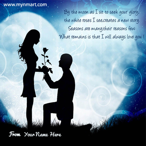 Happy Propose Day Quotes with Your Name