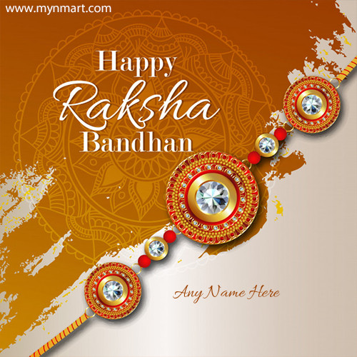 Happy Raksha Bandhan Greeting 2020