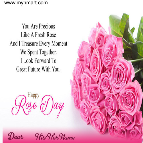Happy Rose Day - Message