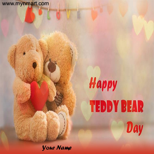 Happy Teddy Day - Cute Teddy Bear