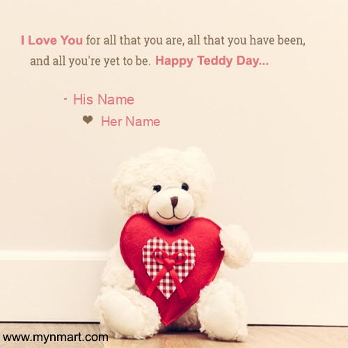 Happy Teddy Day - I Love You