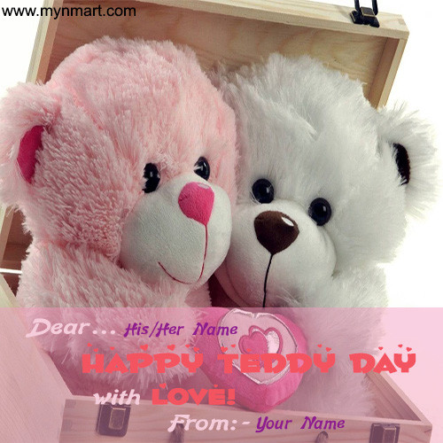 Happy Teddy Day with Love