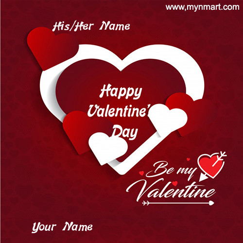 Happy Valentine Day Be My Valentine