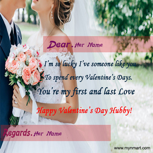 Happy Valentine Day - Hubby