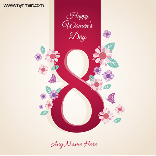Happy Women's Day Greeting 2021