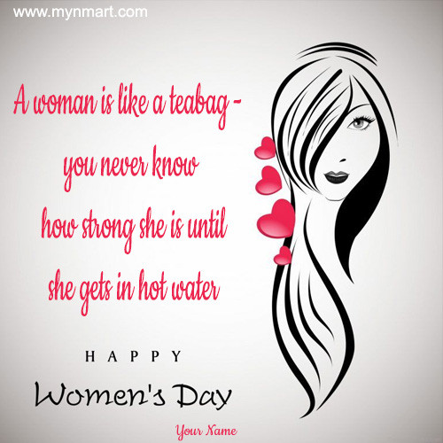 Happy WoMen's Day Image With Quotes